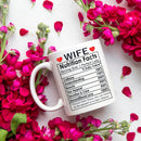 Valentines Day Gifts, Happy Anniversary Gifts, Birthday Gifts Ideas, Mothers Day Gifts, Best Wife Ever Gifts, Christmas Gifts for Wife, Her - Cofffee Mug 11oz
