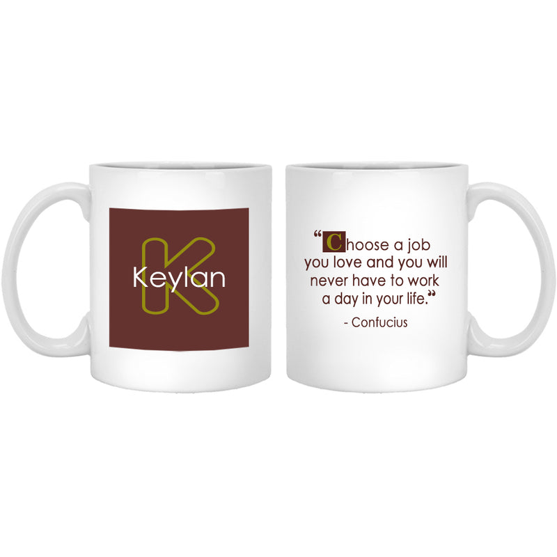 34 Quotes Personalized Coffee Mug - The Coffee Mug Gift For Special Occations - Sage Design Mug