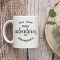 Housewarming Gifts For New Home – House Warming Decoration Gifts for Him, Her, Couple, Men and Women- New Home Coffee Mug - 11 Ounce Coffee Mug Cup