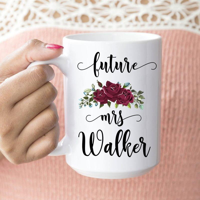 Personalized Engagement Mug - Future Bride Mug - Does This Ring Make Me Look Engaged Mug - YehGift