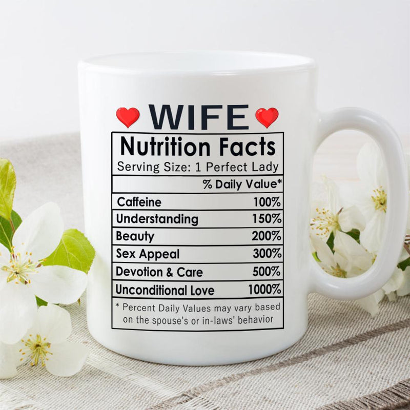 Valentines Day Gifts, Happy Anniversary Gifts, Birthday Gifts Ideas, Mothers Day Gifts, Best Wife Ever Gifts, Christmas Gifts for Wife, Her - Cofffee Mug 11oz - YehGift
