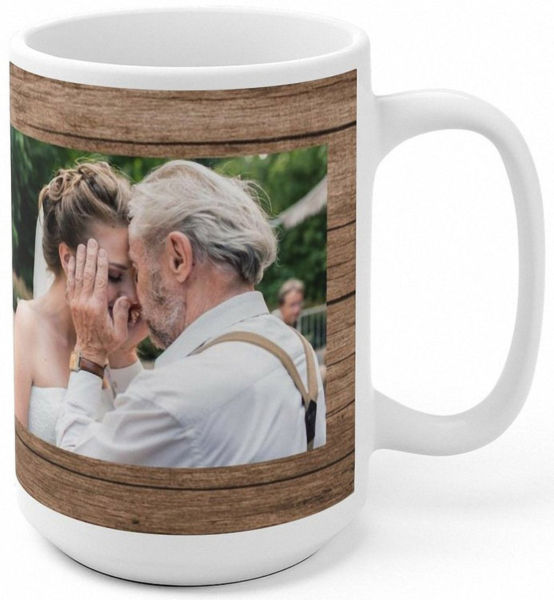 You are the Best! Thanks for All You Do Gift For Fathers Day - Add Your Photo to Customized Dad Mug - YehGift