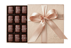 Fran's - 12pc Gray Salt & Smoke Salt (Milk Chocolates)