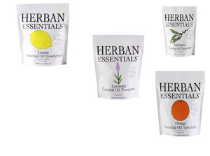 Herban Essentials  - 4 scents - Antibacterial/Antimicrobial