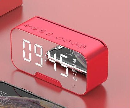 LED Bluetooth Mirror Speaker Alarm - Cards and Gadgets
