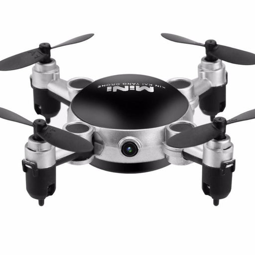 2.4G 4CH 6-Axis Gyro 360 Degree Roll Foldable RC Quadcopter with Camera - Cards and Gadgets