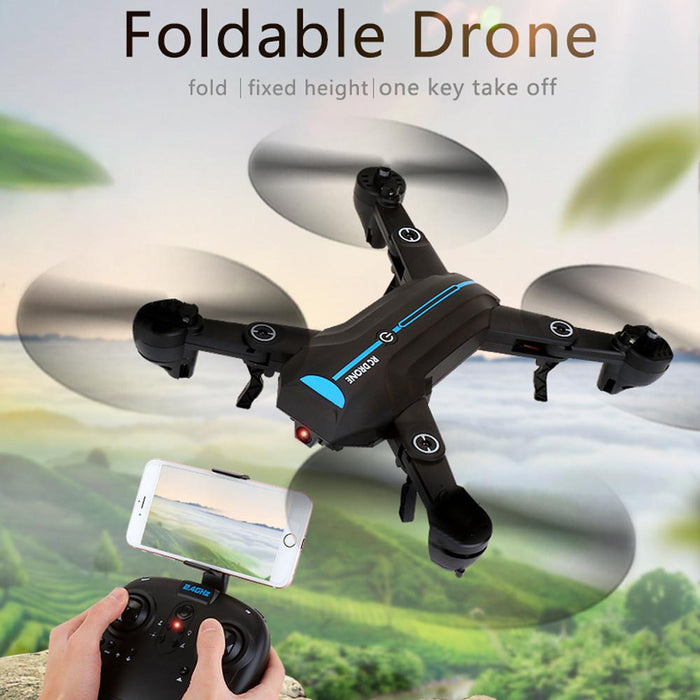 Mini A6 2.4G Foldable Quadcopter Drone with HD Camera - Cards and Gadgets