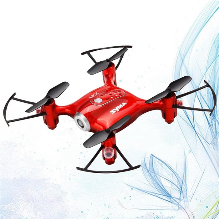 Mini Red 4 Axis Altitude Hold Quadcopter Drone - Cards, Collectibles and Gadgets - CCG LLC