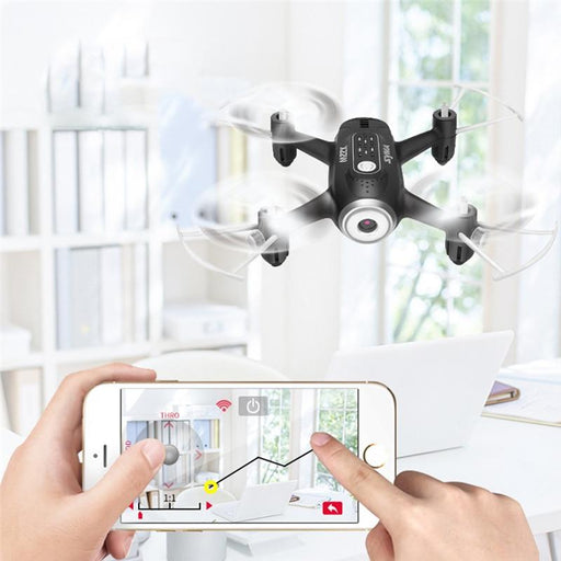 WiFi RC Headless Quadcopter Portable RC Drone with HD Camera - Cards and Gadgets