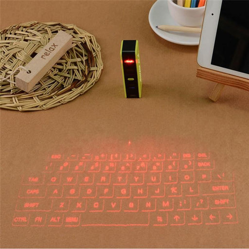 Portal Bluetooth Wireless Laser Projector Virtual Keyboard for Mobile Devices - Cards, Collectibles and Gadgets - CCG LLC