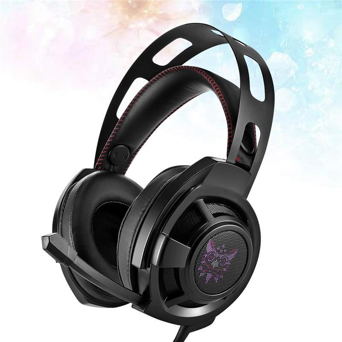 Noise Canceling Gaming Stereo Wired Headphones with LED Lights - Cards and Gadgets