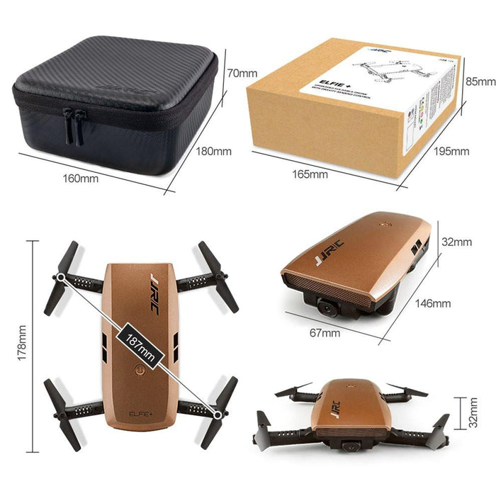 720P G Sensor Foldable Headless RC Quadcopter Drone - Cards and Gadgets