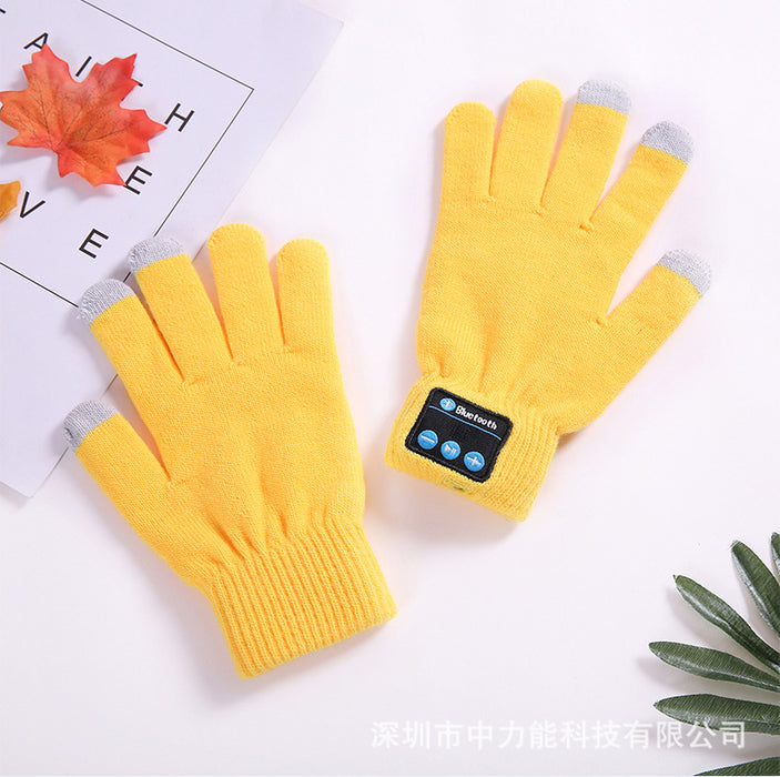 Unisex Bluetooth Winter Gloves - Cards and Gadgets