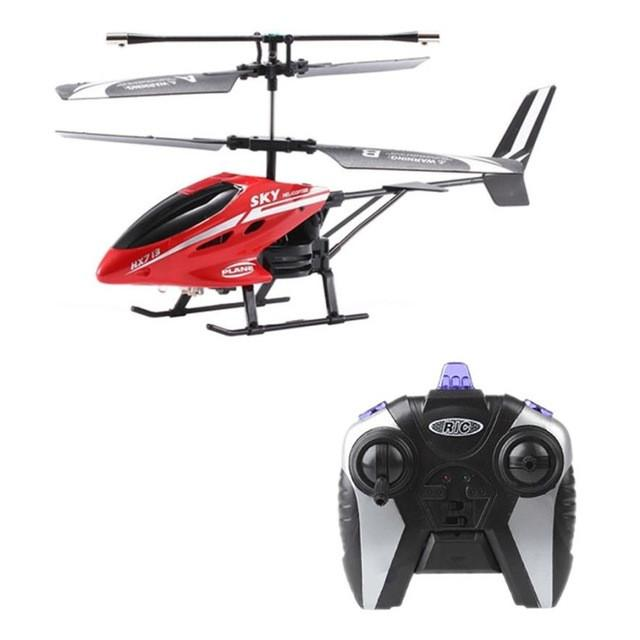 3.5 Channel RC I/R Remote Control Helicopter With Gyro LED Mini Drone Headless Drone toys for children - Cards and Gadgets