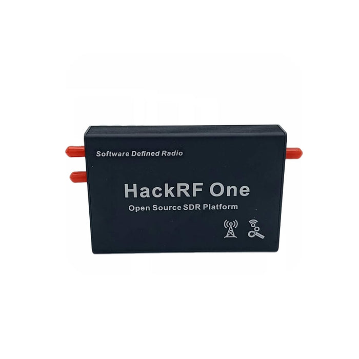 Black Aluminum Enclosure Cover case shell for HackRF One SDR - Cards and Gadgets