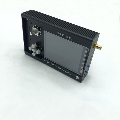 Metal Case Black Aluminum Enclosure Cover Shell for PORTAPACK H2 / HACKRF ONE SDR Radio - Cards and Gadgets