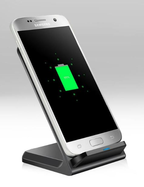 10W Wireless Charger, Quick Charging Dock For Mobile Phone - Cards and Gadgets