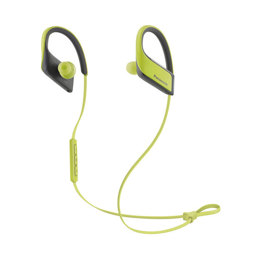 Bluetooth Sports Headset with Microphone Panasonic RP-BTS30E Yellow - Cards and Gadgets