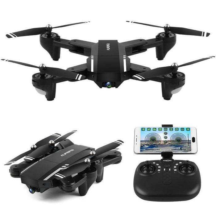 Mini Foldable WiFi 2.4G RC Quadcopter with Wide Angle Camera - Cards and Gadgets