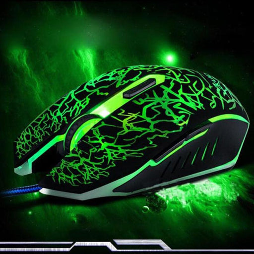 Professional 4000 DPI 6 Buttons Gaming Mouse - Cards and Gadgets