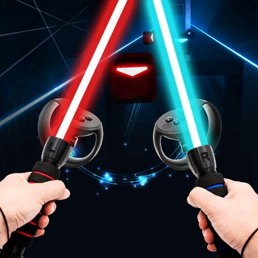 Amvr Dual Handles Gamepad For Oculus Rift Controllers Playing Beat Saber Game AR Glasses VR/AR Glasses Accessories - Cards and Gadgets