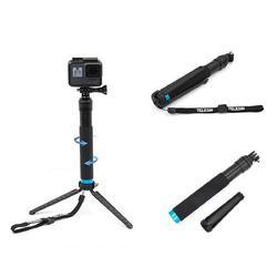 Bakeey Handheld Monopod Tripod Selfie Stick Pole with Clip for Smartphones GoPro Hero 4 5 6 SJCAM - Cards, Collectibles and Gadgets - CCG LLC