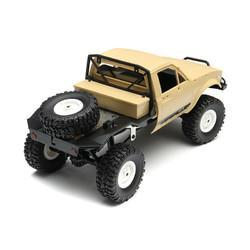 Bang good WPL C14 1/16 2.4G 4WD Off Road RC Military Car Rock Crawler Truck With Front LED RTR Toys - Cards and Gadgets