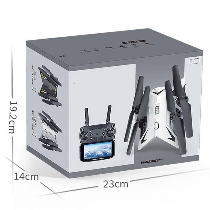 Remote Control Headless Foldable RC Quadcopter with 5MP 1080P Camera WiFi Drone - Cards and Gadgets