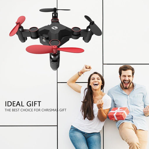 Mini Foldable Pocket Drone Toy - Cards and Gadgets
