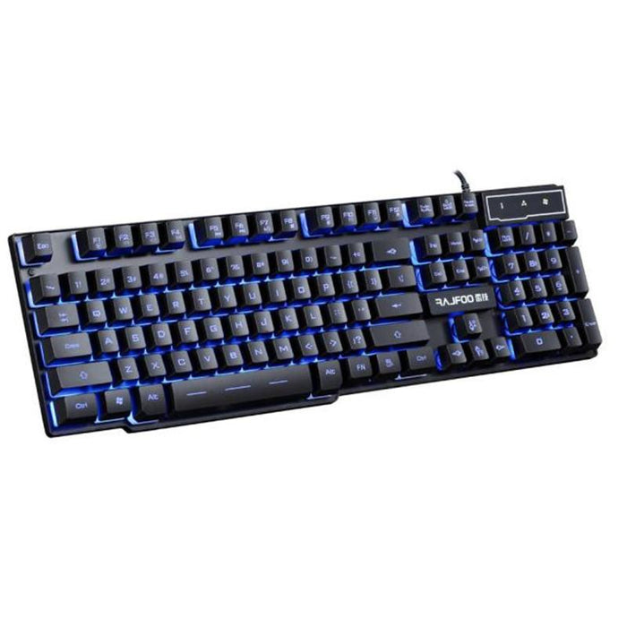 USB Wired 3 Colors LED Backlight PC Gaming Keyboard - Cards, Collectibles and Gadgets - CCG LLC