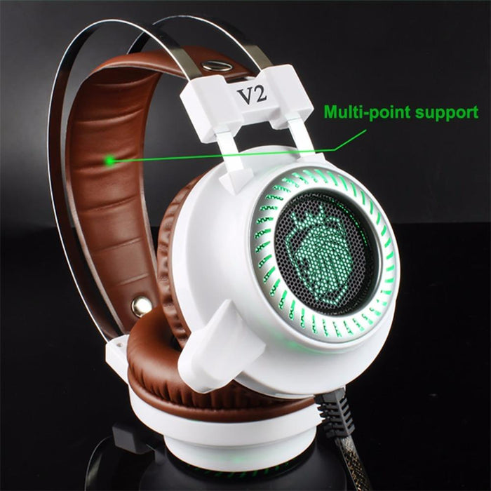 Stereo Gaming LED Headphone with Microphone - Cards and Gadgets