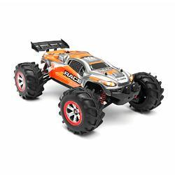 Feiyue FY10 RACE 1/12 2.4G 4WD Brushed Rc Car Water Land Amphibious Short Course Off-road Truck - Cards and Gadgets