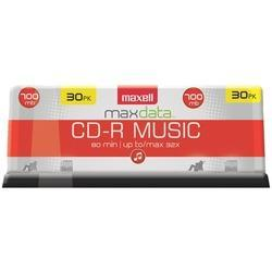 Maxell 625335 80-minute Music Cd-rs (30-ct Spindle) - Cards, Collectibles and Gadgets - CCG LLC