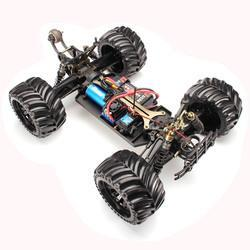 JLB Racing CHEETAH 120A Upgrade 1/10 Brushless RC Car Monster Truck 11101 RTR With Battery - Cards and Gadgets