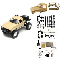 WPL C14 2.4G 1/16 Four Drive Climber RC Car KIT With Servo Motor - Cards and Gadgets