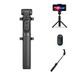 Original Xiaomi 2 in 1 bluetooth Mini Extendable Folding Tripod Selfie Stick For Mobile Phone - Cards and Gadgets