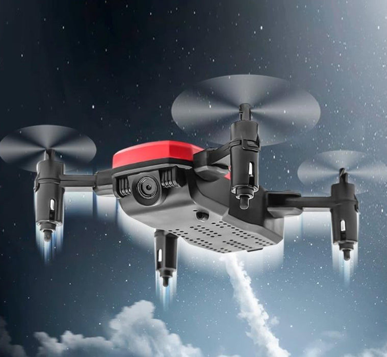 2.4GHz Ninja Stealth 6 Channel Mini RC Drone with 1080P Camera and Mobile Controller - Cards and Gadgets