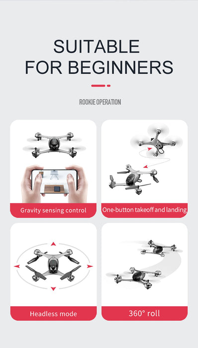 Ninja Dragons 4K RC Follow Me Quadcopter Toy Drone - Cards and Gadgets