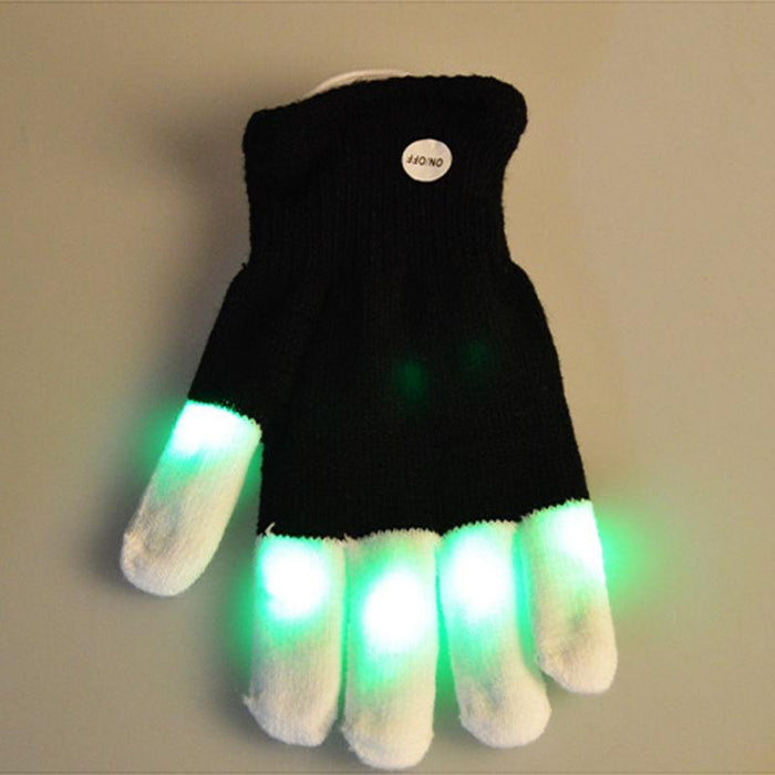 Amazing Winter Flashing LED Gloves - Cards and Gadgets