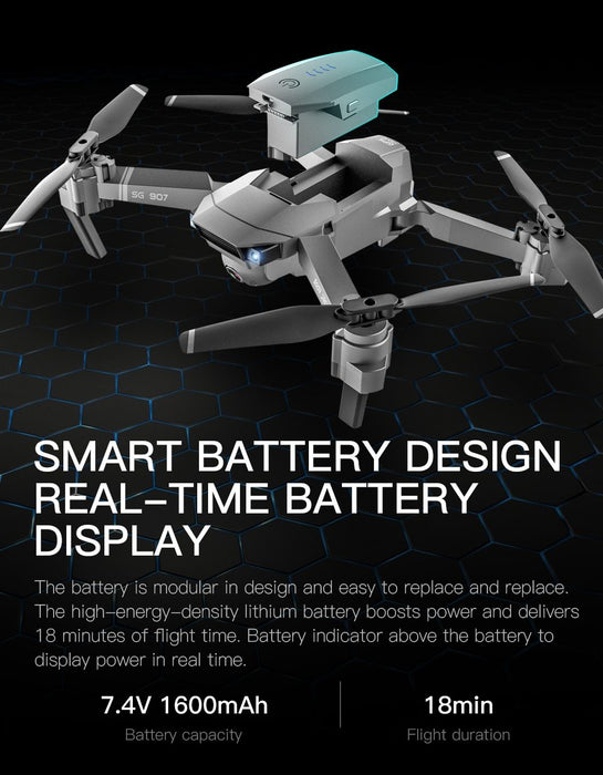 Ninja Dragons ND907 GPS Drone with 1080P / 4K Camera - Cards and Gadgets