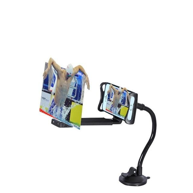 "12"" Mobile Phone HD Projection 3D Magnifier - Cards and Gadgets"