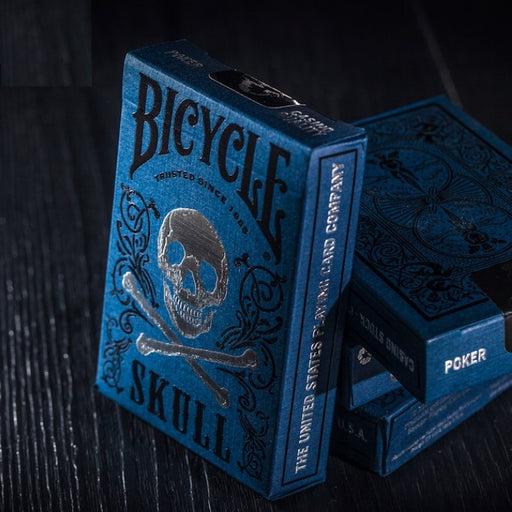 Bicycle Luxury Skull Playing Cards Poker Size Deck Magic Cards Close Up Stage Magic Tricks Props for Magician - Cards and Gadgets