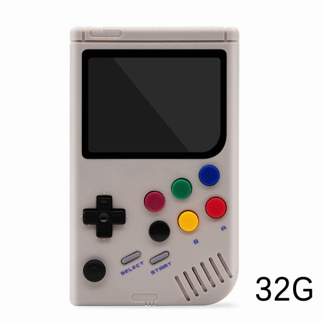 Dikdoc LCL-Pi Retro Video Game Console Player Raspberry Pi boy 3B Handheld Game with 3.5 Inch IPS Screen Built-in 10000 Games - Cards and Gadgets