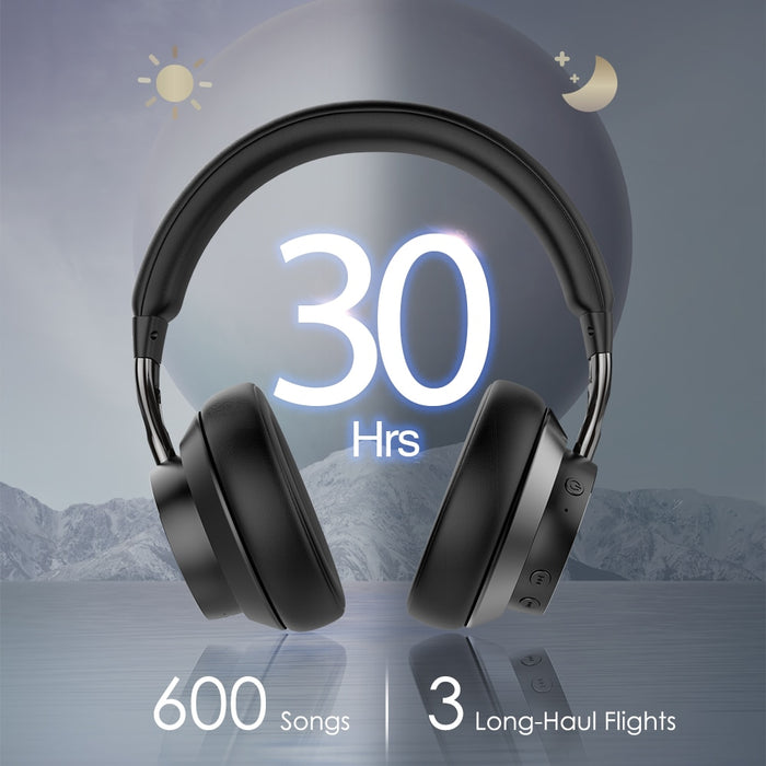 E10 Wireless Headphones Bluetooth 5.0 Headset Active with Noise Cancelling - Cards and Gadgets