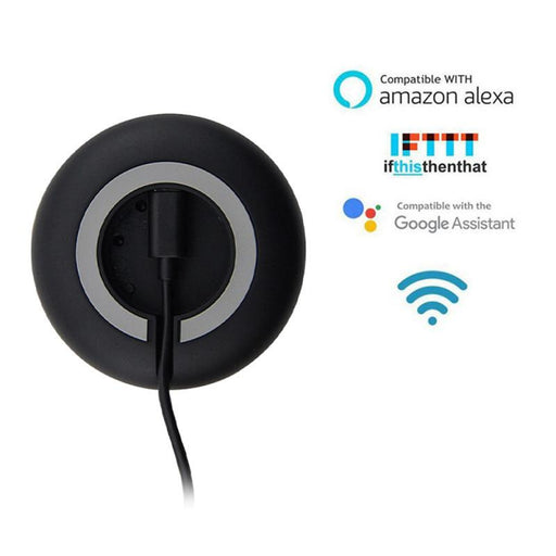 L&PC Newly Mini Smart IR Universele Afstandsbediening TV AC Voice Afstandsbediening Werk met Alexa Google Home Assistent - Cards and Gadgets