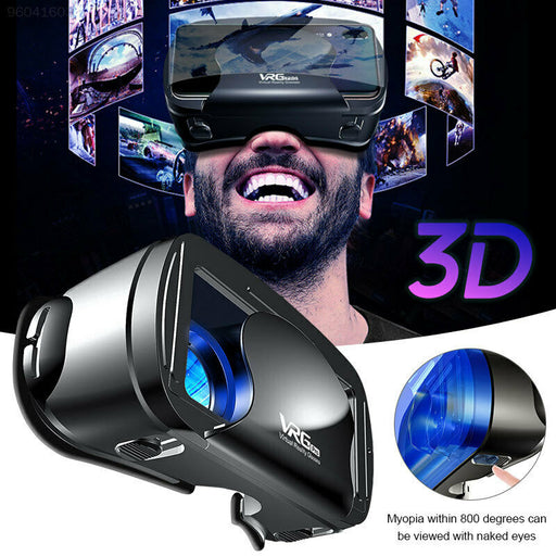 3D VR Glasses Virtual Reality for Goggles VRG PRO for Android iOS 5~7inch Smartphone with Gamepad - Cards and Gadgets