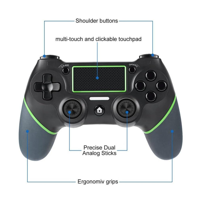 Ninja Stealth Alpha 1 Bluetooth Gaming Dual Shock Controller - Cards and Gadgets
