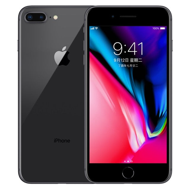 "Apple iphone 8 Plus 4G LTE 5.5"" Hexa Core 3GB RAM 64G/256G ROM Cellphone 12MP Original iOS Fingerprint Mobile Phone - Cards, Collectibles and Gadgets - CCG LLC"