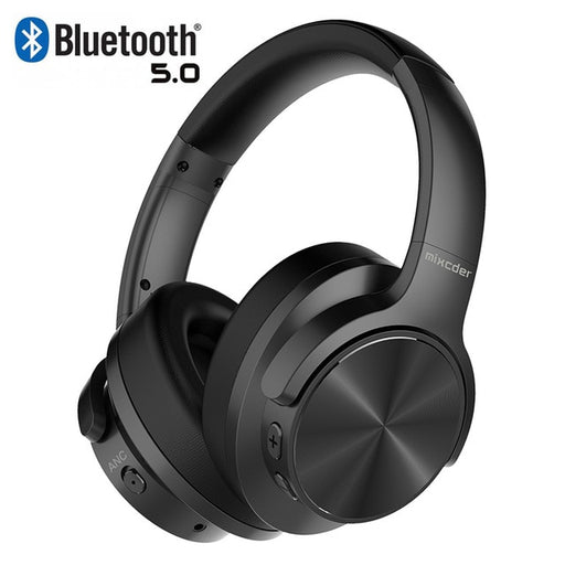 E9 Active Noise Cancelling Wireless Bluetooth Headphones - Cards and Gadgets