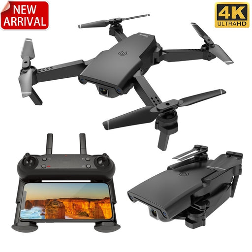 2020 new S8 drone 1080P 4K HD optical flow dual camera, WIFI FPV real-time transmission foldable four-axis RC aircraft toy - Cards and Gadgets